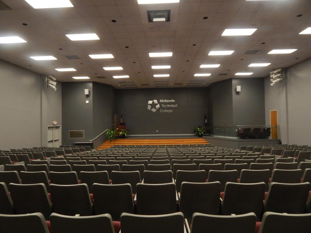 Midlands Tech Auditorium Painting